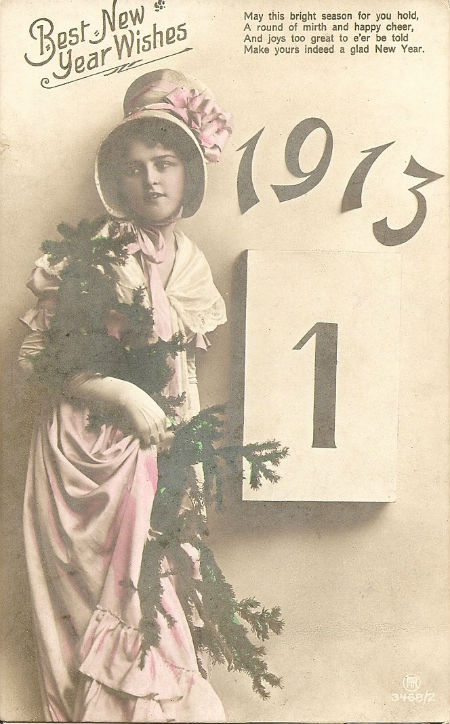 New Year's Card 1913
